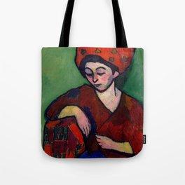 "Alexej von Jawlensky ""Helene with Colored Turban"" 1910 Tote Bag"