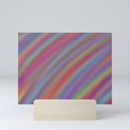 Rainbow Ripple Mini Art Print