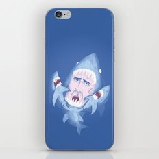 Nic Cage is Sharks! iPhone & iPod Skin