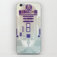 starwars iPhone & iPod Skins featuring StarWars R2D2 by Joshua A. Biron