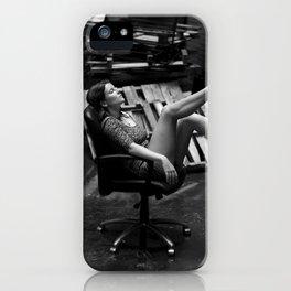 Juxtaposition iPhone Case