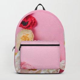 Beautiful Pink Flowers Backpack