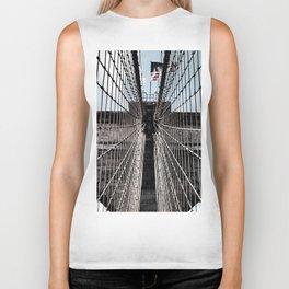 Iron Strung - Brooklyn Bridge Biker Tank