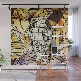A Pulled Fuse Wall Mural