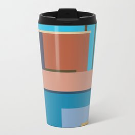 Homage To Hockney Travel Mug