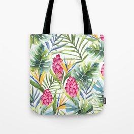 Summer Tropical pattern Tote Bag