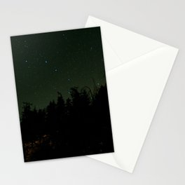 Nightscape at Orcas Island Stationery Cards