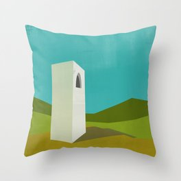 Simple Housing - A love tower Throw Pillow