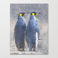 Antarctic to the right??? Canvas Print