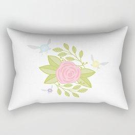 Garden of Fairies Rectangular Pillow