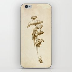 The Helium Menagerie (sepia) iPhone & iPod Skin