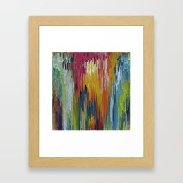 Abstract painting 112 Framed Art Print