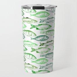 Green Fish Travel Mug