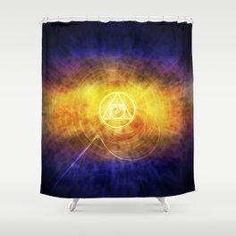 Philosopher's Stone Shower Curtain