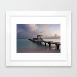 Sunset Isla Mujeres Framed Art Print