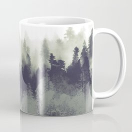 Mountain Forest Abstract Coffee Mug