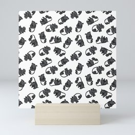 Malayan tapir Mini Art Print
