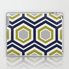 Hexagons and Zigzags Laptop & iPad Skin