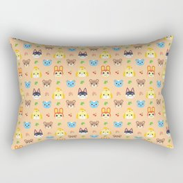 Animal Crossing - Peach Rectangular Pillow