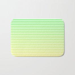 Beach Blanket - Green/Yellow Stripes Bath Mat