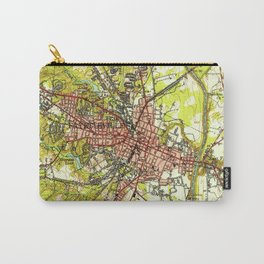 Vintage Map of Fayetteville North Carolina (1948) Carry-All Pouch