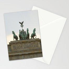 Victory, Brandenburger Gate statue Berlin Stationery Cards