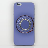 basketball iPhone & iPod Skins featuring Basketball by www.sfbild.se