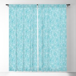 shoal of fish in the turquoise ocean Blackout Curtain
