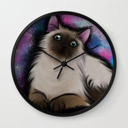 Charity the Cat Wall Clock