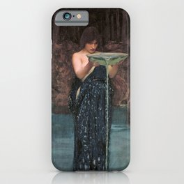 Circe Invidiosa - John William Waterhouse iPhone Case