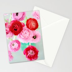 Ranunculus Confetti Stationery Cards