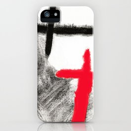 You and Me - Painting iPhone Case