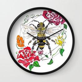 Honey (color) Wall Clock