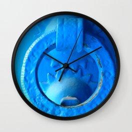 Chefchaouen Blue Wall Clock
