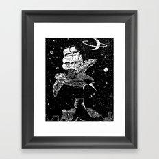 Sobaloopsian Father & Son Framed Art Print