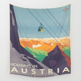 Vintage poster - Austria Wall Tapestry
