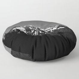Desolation Mountain Floor Pillow