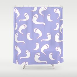 Tiny Ghosts Shower Curtain