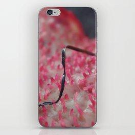 pink algae iPhone Skin
