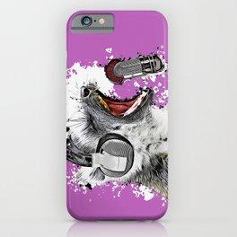 Singing Lemur II iPhone Case
