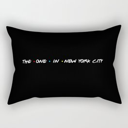 the one in new york city Rectangular Pillow