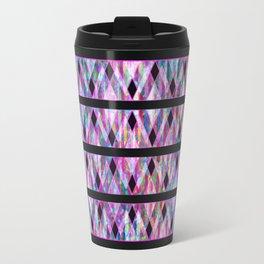 Geometric Glossy Pattern G330 Travel Mug