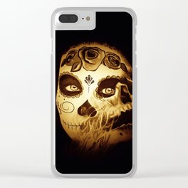 Skull2 Clear iPhone Case