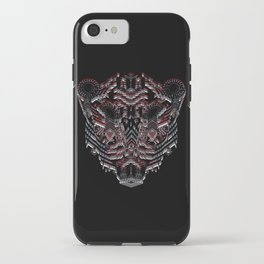 Tiger Abstract iPhone Case
