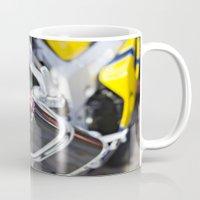 yoshi Mugs featuring Hot Yoshi by skwerelygraphs