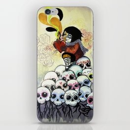 """Sugar Skull Song: You are Where You are Because of Them"" 2011 iPhone Skin"