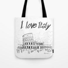 Il colosseo (Roma) Tote Bag