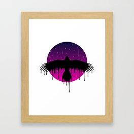 The Dripping Bird Framed Art Print
