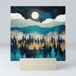 Evening Mist Mini Art Print