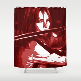 Minimalist Kill Bill Shower Curtain